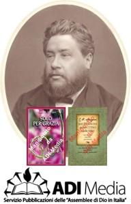 Spurgeon e la copertina dei libri che sono stati manipolati da ADI-MEDIA